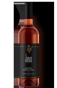 Růžové víno suché Cabernet Moravia 2019