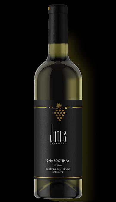 Bílé víno Chardonnay 2020 polosuché