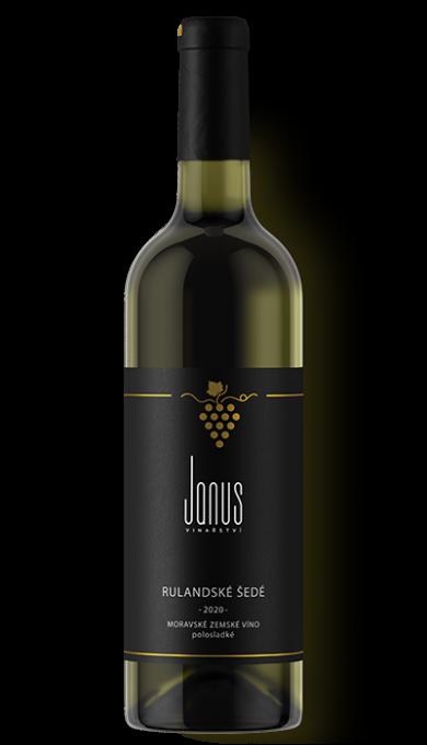 Bílé víno Rulandské šedé 2020 polosladké