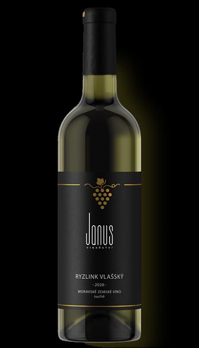 Bílé víno Ryzlink vlašský 2020 suché
