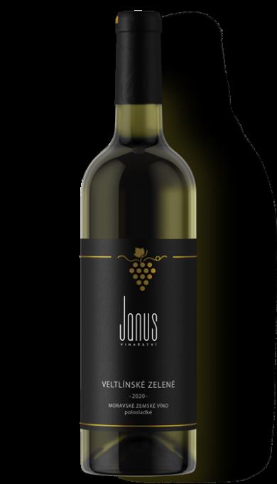 Bílé víno Veltlínské zelené 2020 polosladké