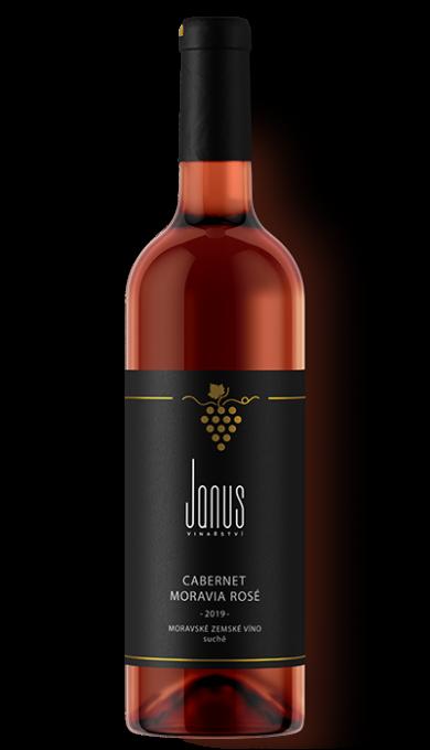 Červené víno Cabernet Moravia Rosé 2019 suché
